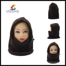 HW0070B LINGSHANG 100% FLEECE зимний открытый лыжный полный маска для лица balaclava