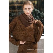 Factory newest pattern fashion long gaze de paris scarf with low price