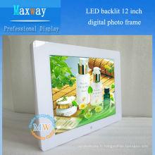 4: 3 résolution 800X600 cadre photo numérique 12 pouces