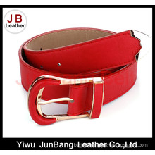 Fashionable Lady′s Wide PU Belt for Jeans