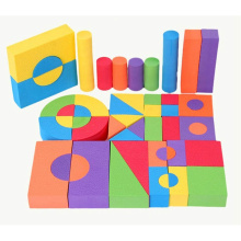 EVA DIY education Toy colorful soft foam blocks