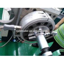Export nach Thailand 65/150 Luftkühlung Hot-Face PVC Kabel Material Extruder