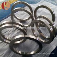 Diseño al por mayor de la joyería del proveedor al por mayor sin el anillo de piedra del titanio en blanco
