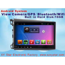 Sistema Android 10.1 Inch Car DVD Player para Honda Civic con navegación GPS