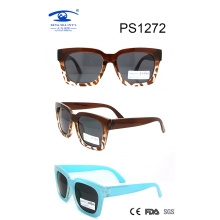 Vintage Model Wholesale Rectangle Frame Children Sunglasses (PS1272)