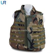 Durable Plate Carrier Tactical PE Ballistic Vest Jacket with Collar Protection