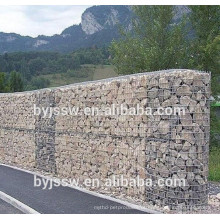 Glass Rock para Gabion e soldado Gabion Wire Mesh Box