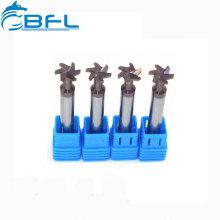 BFL CNC Hartmetall-T-Nutenfräser für Stahl oder Aluminium