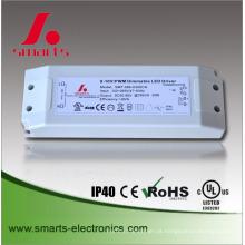 a caixa do plástico ip20 conduziu o excitador 0-10v constante atual da corrente do motorista 500ma 30w
