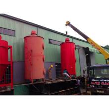 waste recycling mangement carbon fiber carbonization furnace