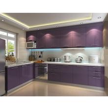 Foshan customized modern kitchen designs high gloss kitchen cabinets