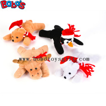 "6""Xmas Bean Bag Stuffed Animal Toy Children Christmas Gift"