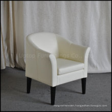Restaurant Cafe Used Leather Single Chair Sofa Seating (SP-HC523)