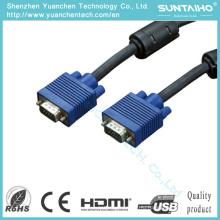 Новый 15pin к Мыжскому кабелю VGA для мультимедийный