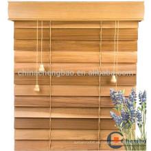 2016 más reciente diseño de madera de bambú persianas venecianas para sala de estudio