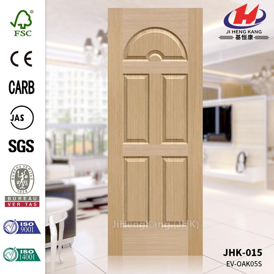 Engineered White Oak 05S Concave Door Skin