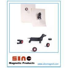 Kreativer Karikatur-Tierhundekühlschrank-Magnet