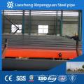 ASTM A 106Gr.B, St52, nahtloses Kohlenstoffstahlrohr / Rohr für Übertragungsgas oder Wasser