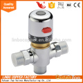 Three-Way Thermostatic Mixing Valve with Low-Lead Brass, 1/2-Inch NPT Male Scald Protection Three-Way Thermostatic Mixing Valve with Low-Lead Brass, 1/2-Inch NPT Male
