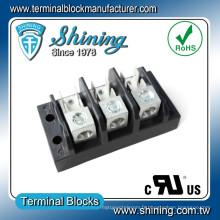 TGP-050-03A 50A 3 Pole Power Supply Bloc de bornes d'éclairage LED