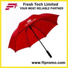 30 Zoll professionelle lange Handle Gerade Regenschirm