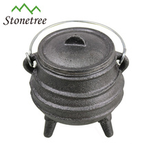 Mini Pot de ferro fundido Potjie