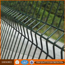 Curved Backyard Welded Wire Mesh Fence