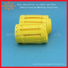 Marcadores de fios impressos livres de halogéneo MTVLU