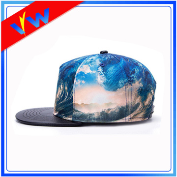 Custom 5 Panel Dye sublimación Snapback gorra