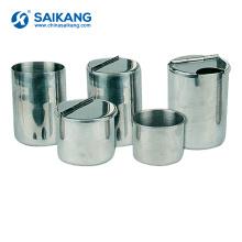 Copos médicos de aço inoxidável SKN032Equipamento de garrafas esterilizadas