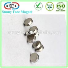 Одежда никель 8 x 3 мм круглые магниты