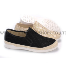 Women′s Shoes Leisure PU Shoes with Rope Outsole Snc-55005
