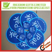 Frisbee dobrável impresso logotipo do poliéster da promoção