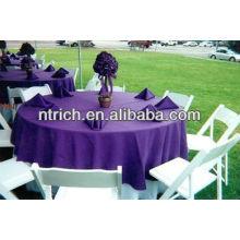 Linge de table basse, 100 % polyester nappe