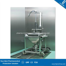 Pharma Single Column Lifting and Washing Machine for Bin