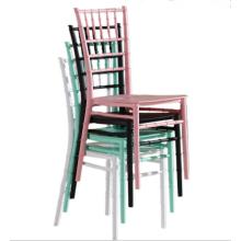 rosa Farbe dauerhaft Großhandel Chiavari Stühle China billig Hochzeit Stühle
