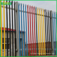 High Quality steel palisade security fencing