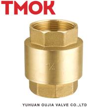 Válvulas de retención de hilo hembra de oscilación de pulido de superficie completa de bronce