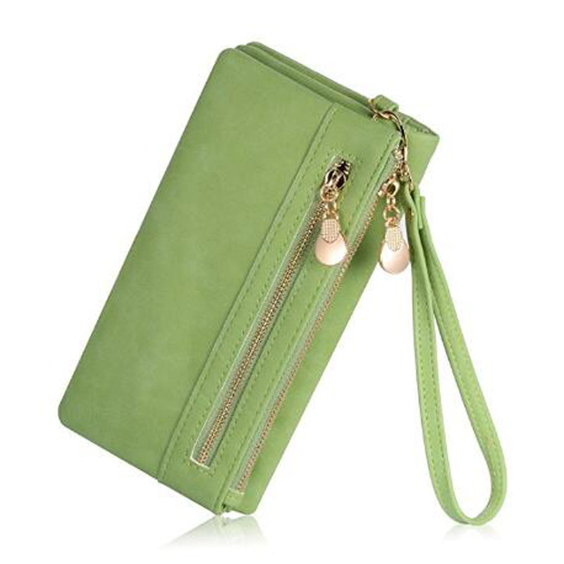 Green Women S Leather Wallets