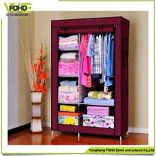 Modern Door Curtain Non-Woven Cloth Custom Wardrobe Armoire