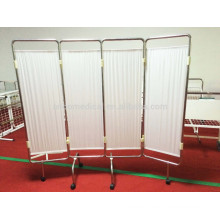 Movable Four folding screens room dividers