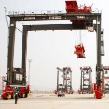 RTG Gummireifencontainer-Portalkranberechnungen
