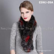 Natural Fox Scarf Eswj-09A