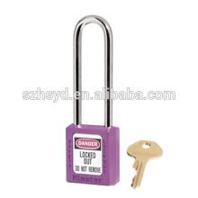 Bloqueo de seguridad / Bloqueo de seguridad de gran longitud Bloqueo de seguridad / Bloqueo largo de candado