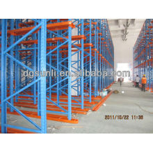 High-Density Radio Shuttle Racking