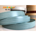 Hot Sale Blue Wood Grain PVC Edge Banding