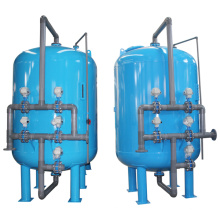 Filtro de agua de arena de pretratamiento para la ósmosis inversa