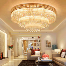 Factory wholesale price for Crystal Ceiling Light classic living room crystal ceiling light supply to Germany Factories