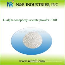 Vitamina E natural acetato de D-alfa tocoferol en polvo 700IU