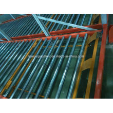 Warehouse Storage Picking System with Flow Gravity Roller Racking